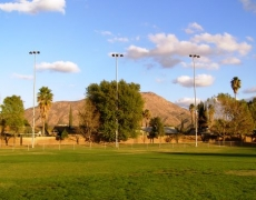 Grand Terrace Baseball Field Lighting